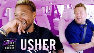 Usher Carpool Karaoke by : The Late Late Show with James Corden