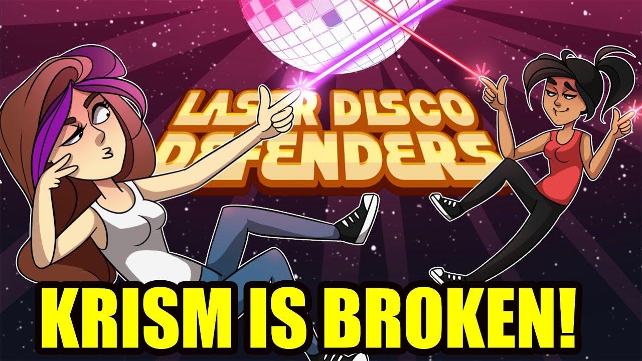 This Game Breaks Krism Laser Disco Defenders Vloggest