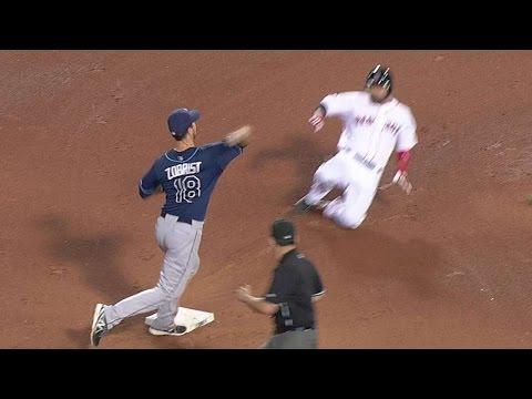 MLB Amazing Double Plays
