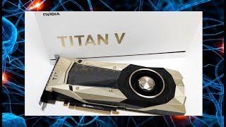 Как работает глубокое машинное обучение на NVIDIA Titan V?