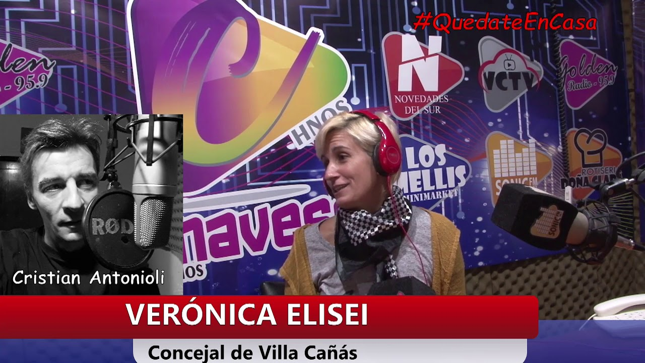 La Concejal Verónica Elisei en FM Sonic.