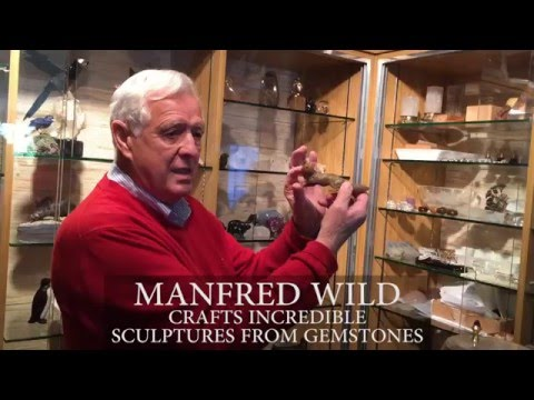 The Work of Manfred Wild, World-Renowned Lapidary Artist
