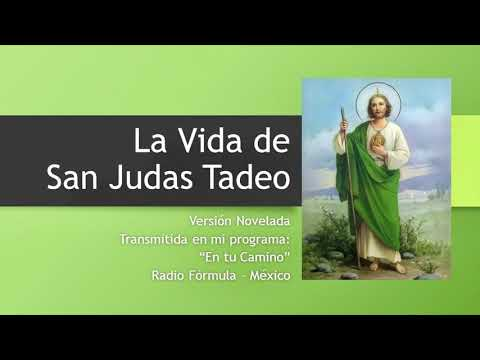 La vida de San Judas Tadeo - Audio