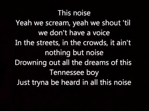 Kenney Chesney Noise Lyrics