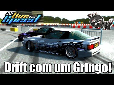 Live for Speed - Fiz drift com um Gringo! (G27 mod)