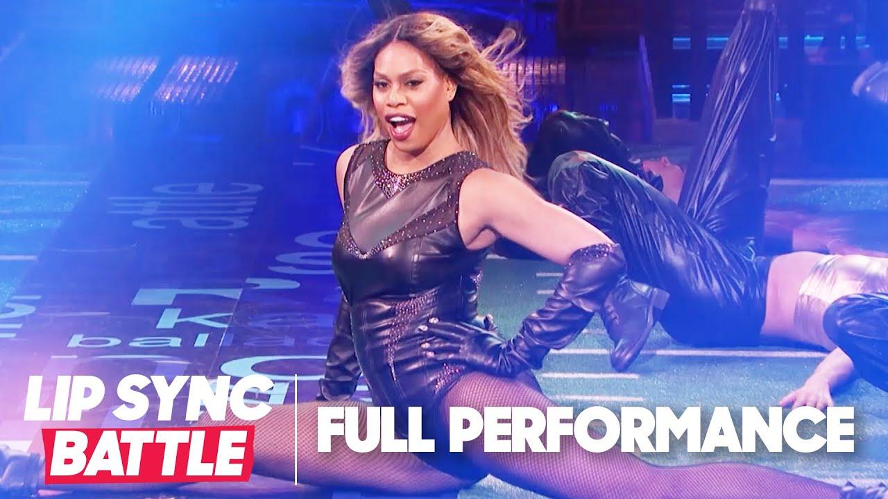 "Laverne Cox Performs ""Roman's Revenge"" & ""Lose My Breath""    Lip Sync Battle"