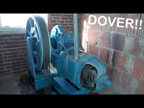 Dover Computamatic elevator at Hall Hotel with Machine Room tour! Mayfield KY