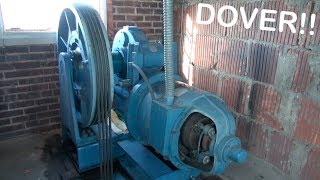 Dover Computamatic elevator with Machine Room tour