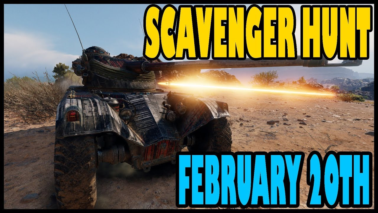 Scavenger Hunt February 20th Code - WoT Guru