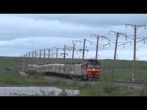 ТЭП70 с пассажирским Воркута - СПБ