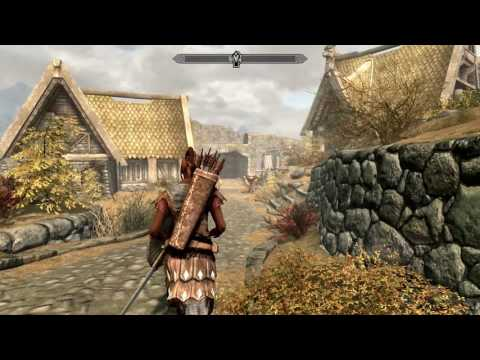 SkyrimSE #2 Ganci Steals A Home