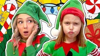 Эльфелия-помощник Деда Мороза! Успеют ли Эльфы подготовить все подарки деткам? Амелька Карамелька
