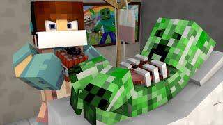 Minecraft: DENTRO DE UM CREEPER   - (Cirurgia Minecraft)