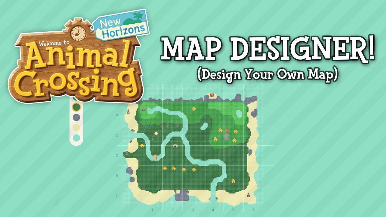 Make Your Own Animal Crossing: New Horizons Map
