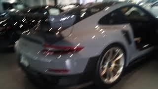 3 Porsche 911 GT2RS' at Porsche South Orlando