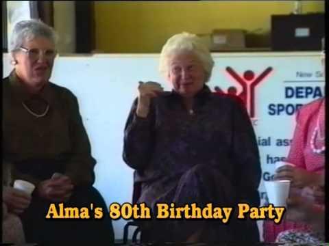 Alma Gray History and 80th