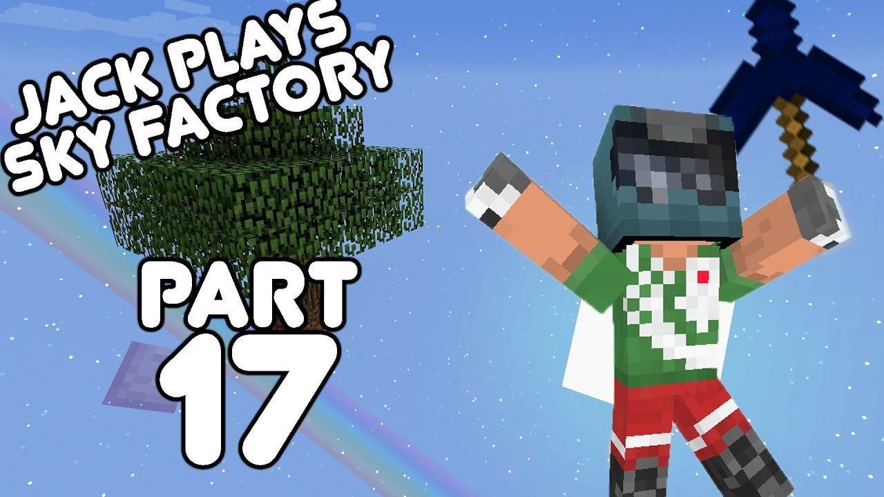 Massive Storage! Jack plays Sky Factory Part 17!
