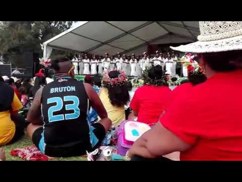 Cook island stage Southern Cross Campus Imene Tuki 2016