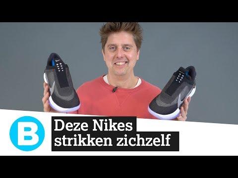 Getest: deze Nike-schoenen strikken zichzelf (en jij kunt ze winnen)