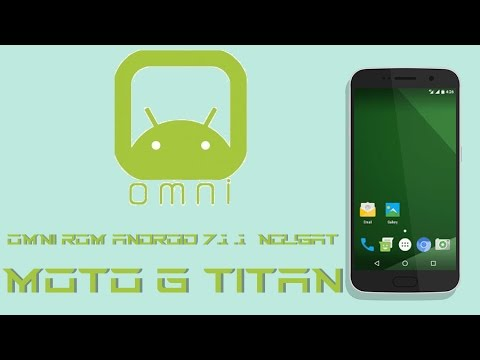 [ROM] OmniRom [Android 7.1.1] [Moto G 2014 Titan]