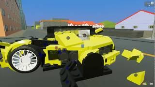 BrickRigs аварии в Лего городе