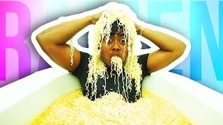 RAMEN BATH CHALLENGE! thumbnail