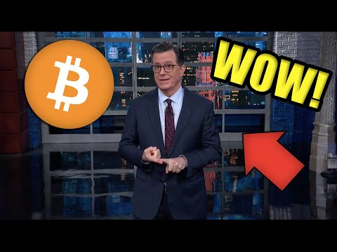 BREAKING: MAINSTREAM MEDIA PUMPING BITCOIN 🚨 [Stephen Colbert, CNBC, C-SPAN]