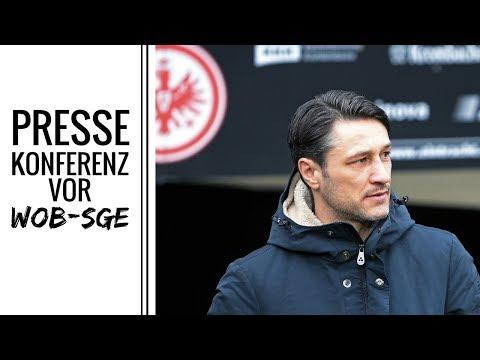 Niko Kovac verkündet Eintracht-Neuzugang | PK vor Wolfsburg | Eintracht Frankfurt