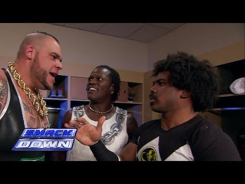 A backstage confrontation occurs between Brodus Clay and Xavier Woods: SmackDown, November 29, 2013