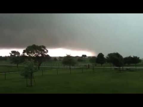 Tornado Forming - Argyle, Denton, Krum, Texas Storms Denton County Part 2