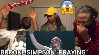 "The Voice 2017 Brooke Simpson - Top 12: ""Praying"" (REACTION)"