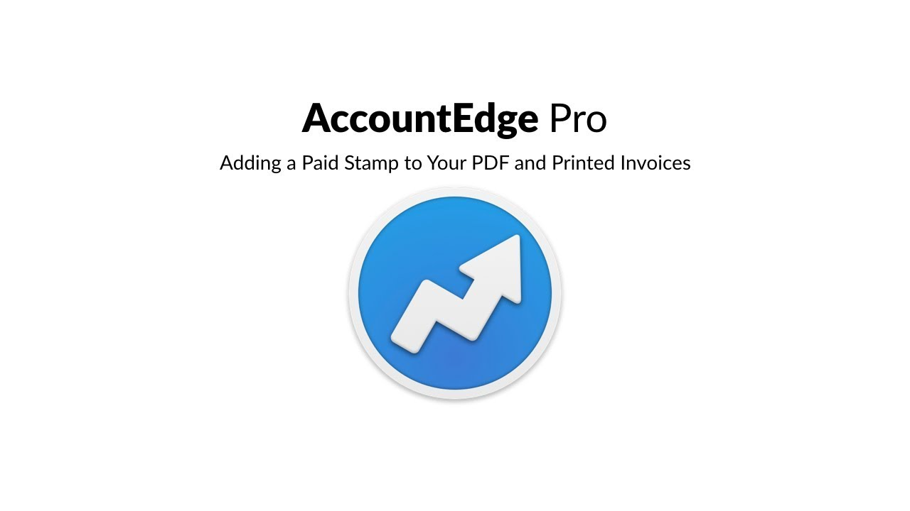 Paid Stamp On PDF And Printed Invoices