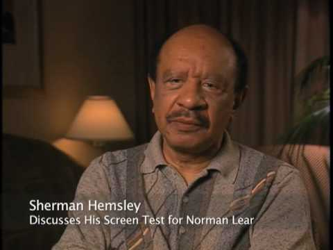 Sherman Hemsley discusses his screen test for Norman Lear - EMMYTVLEGENDS.ORG