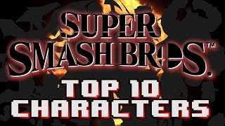 Top 10 Characters For Super Smash Bros. Nintendo Switch