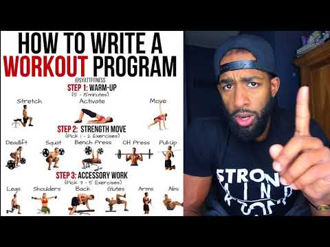 How to create your own workouts