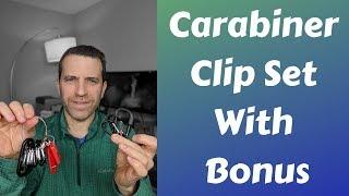 Silbyloyoe Carabiner Clip Set With Bonus Review
