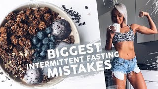 Biggest Intermittent Fasting Mistakes