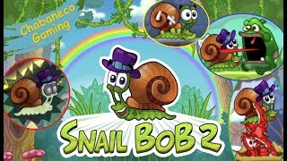 Snail Bob 2 - Full Game - Funny Moments