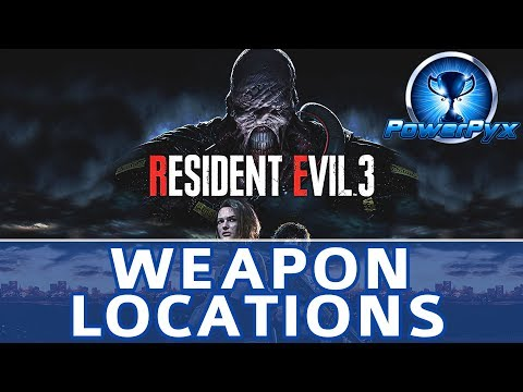 Resident Evil 3 Remake All Weapon Locations