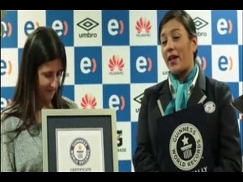 Chili Memecahkan Rekor Dunia Pertandingan Sepak Bola