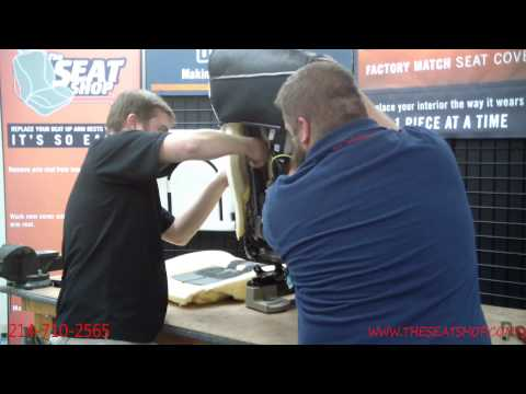 2009-2013 Ford F150 King Ranch/Lariat Leather Bottom and Top Install Video