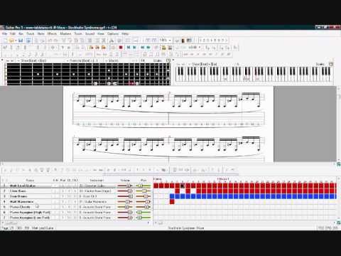 Guitar Pro 5 - Comparing Midi to RSE Playback