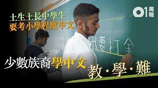 少數族裔學中文 「聽講讀寫」皆難! │ 01周報