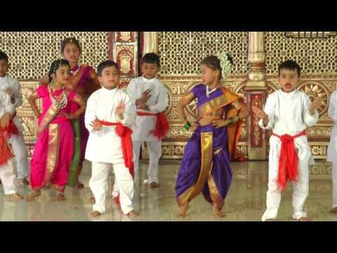 Govinda Ala Re - HD English Medium School Gathering Dance - 2016-17
