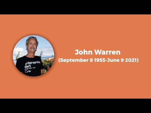 John Warren 1955-2021