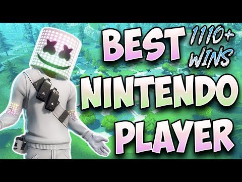 Fortnite Best Nintendo Switch Player 1110+ Wins High Kills in Solos (MARSHMELLO EVENT)