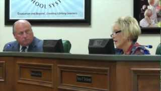 More School Board Drama, Angela Cornett and Wanda Gray