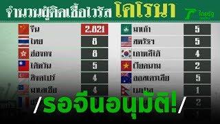 รอจีนอนุมัติบินรับคนไทยในอู่ฮั่น   27-01-63   ไทยรัฐนิวส์โชว์
