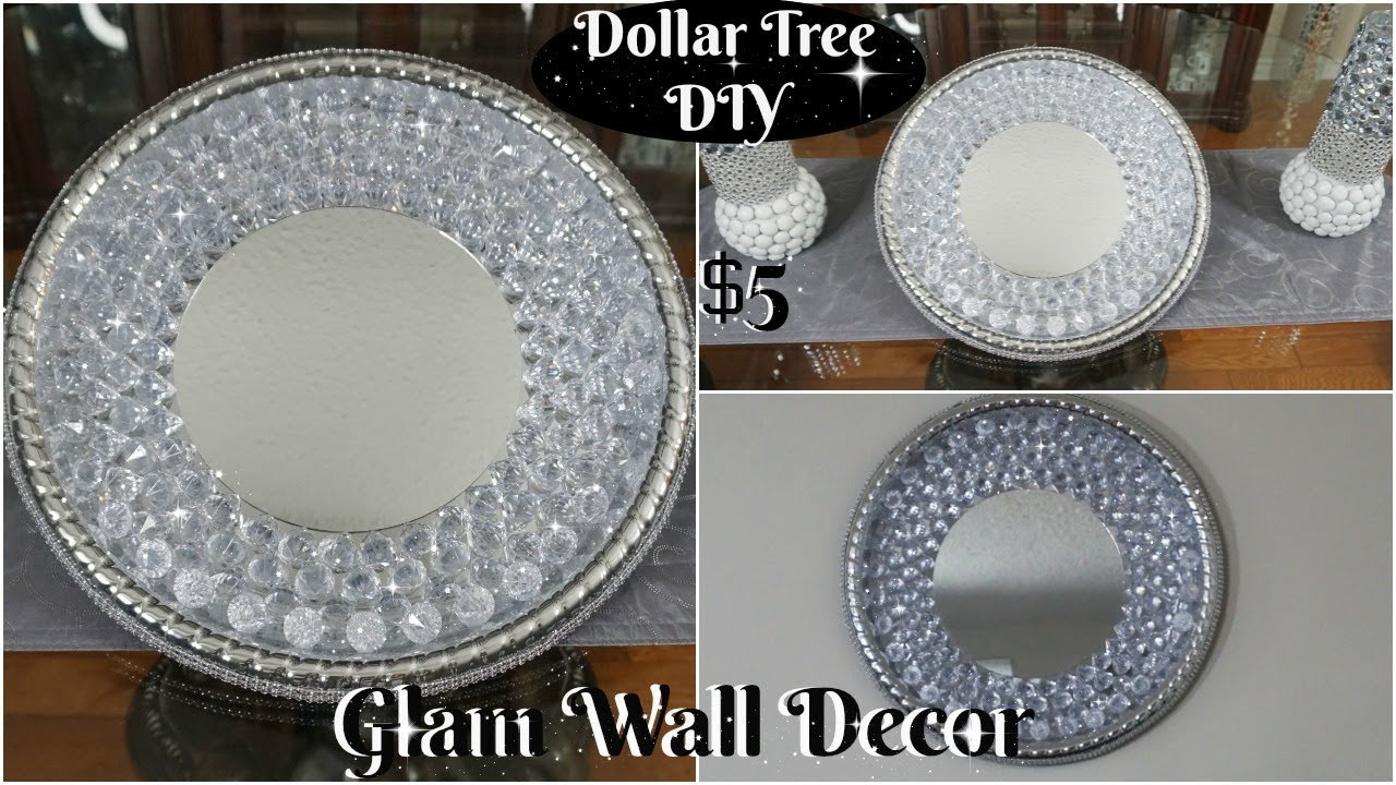 GLAM AND INEXPENSIVE WALL DECOR