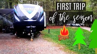 WEEKEND VLOG | Camping at Ebenezer Park, South Carolina | Cook Clean And Repeat